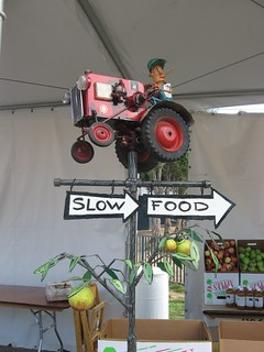 Slow Food this way | by slowlysheturned