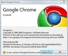 Google Chrome - Dev Build Update | jongalloway | Flickr