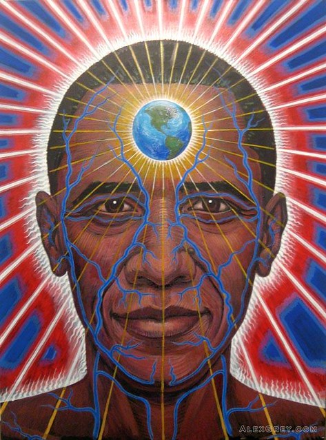 obama  by alex grey