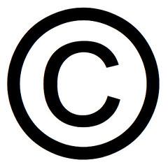 Resultado de imagen de copyright symbol