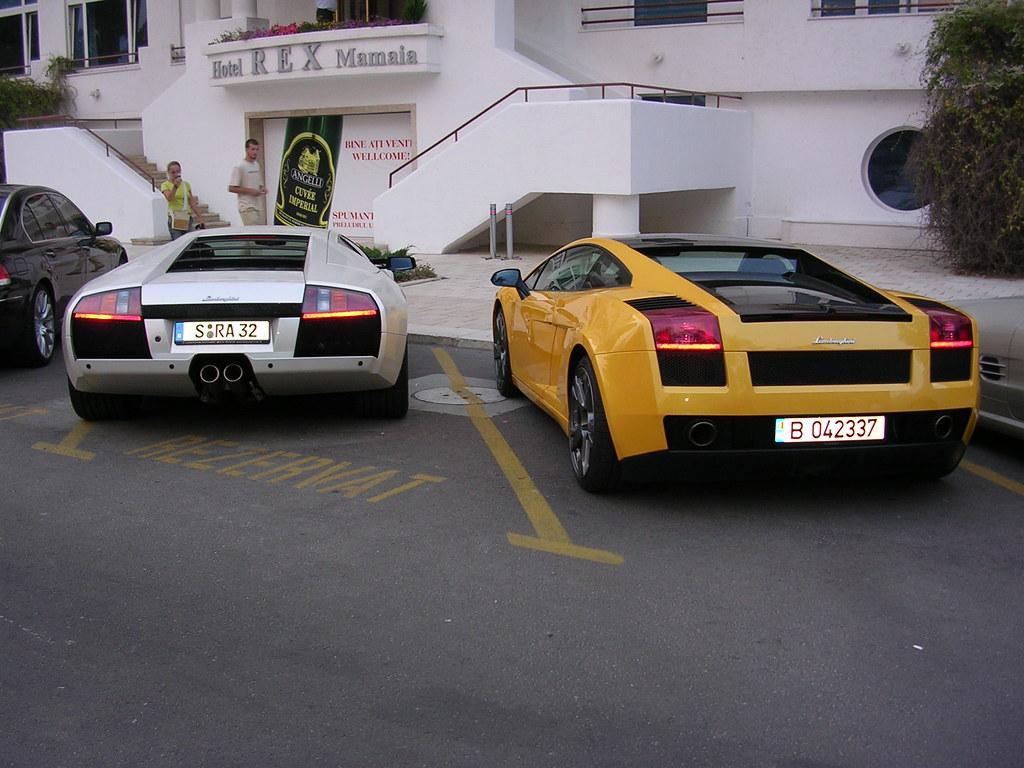 Lamborghini Murcielago Gallardo Se Romania Hotel Rex Jano Flickr