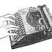 Hermes typewriter ads