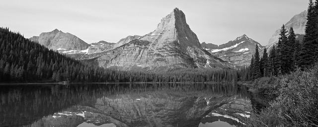 pyramid peak, glacier national park