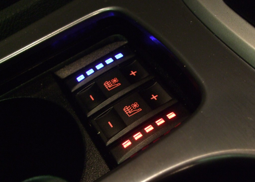 Blue Mondeo Heated Seat Switch