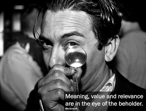 Eye of the Beholder by Brian Solis | by The Brian Solis