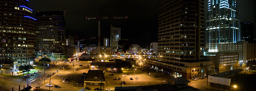 Panorama of Austin at Night | by handcoding