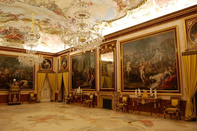 Comedor de Gala, Palacio Real de Aranjuez