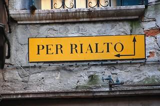 Venetian street sign | by VT_Professor