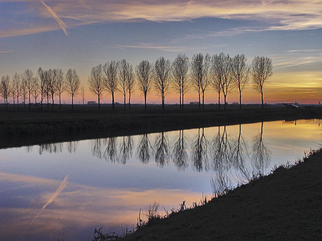 Hertogswetering-avondlucht