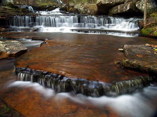 waterfalls arkansas greersferrylake collinscreek