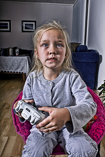 Videogame girl | by Geir Akselsen