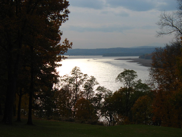View of the Hudson River