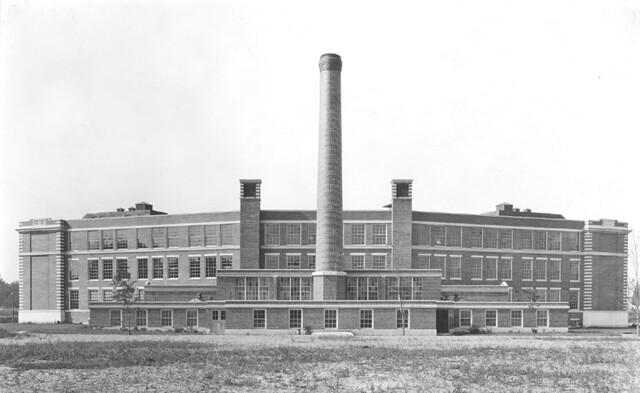 Rear View - Beverly High School (1923)