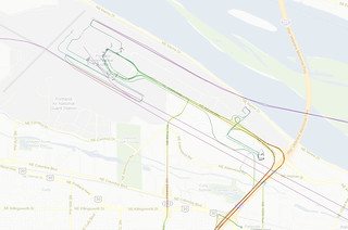 GPS Logs from the Portland Airport - June 2008 through April 2010 | by aaronparecki