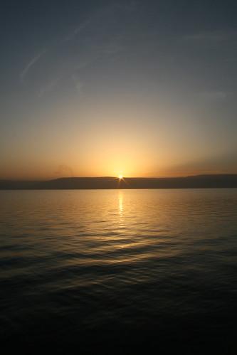 Sea of Galilee sunrise 1 | by KOREphotos