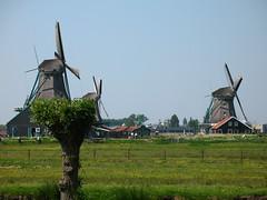 Traditional Dutch Windmills, Zaanse Schans