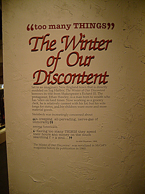 Steinbeck - Winter of our DIscontent