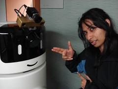 Robot and Pooja