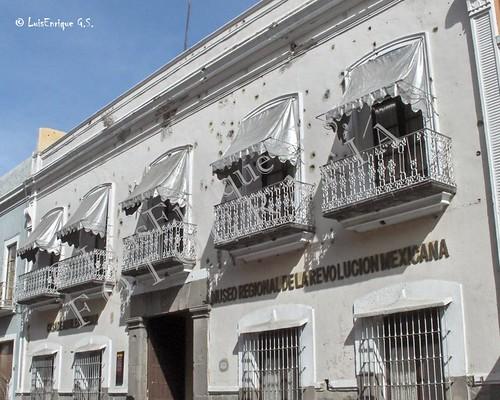 Fachada de la Casa de los Hnos Serdan -  Inicio Revolución Mexicana