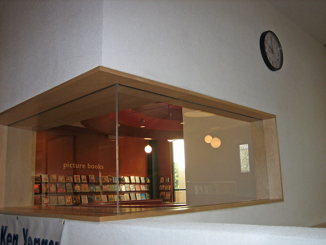 Picture Book Area window