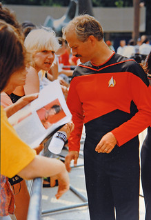 RIP Jack Layton. 1991 Star Trek Convention | by scott3eh