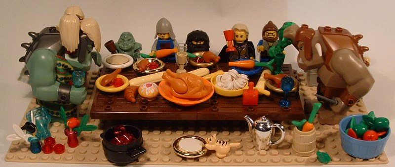 Thanksgiving at the Trolls