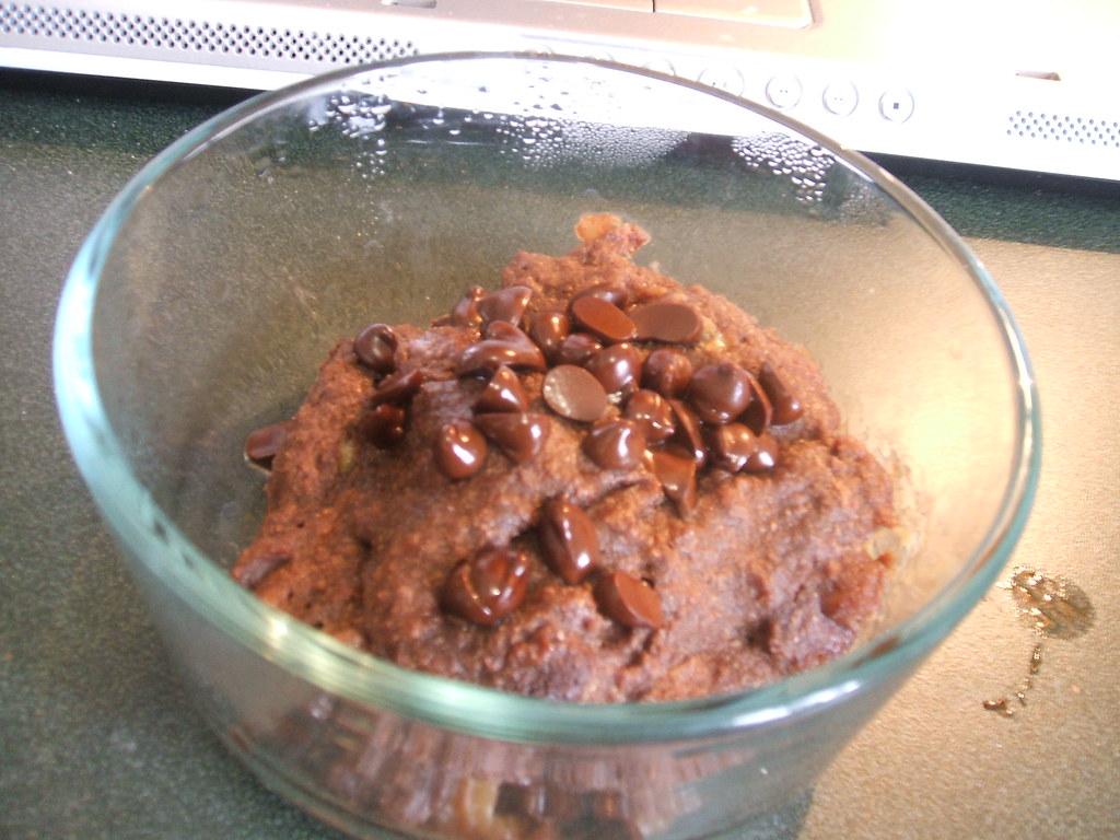 Paulina's 2-Minute Chocolate Brownie Cake | From here | ruby