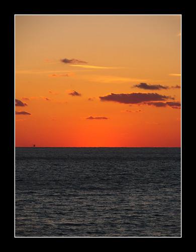 ocean sunset sun water coast massachusetts westport gooseberry waterscape gooseberryisland