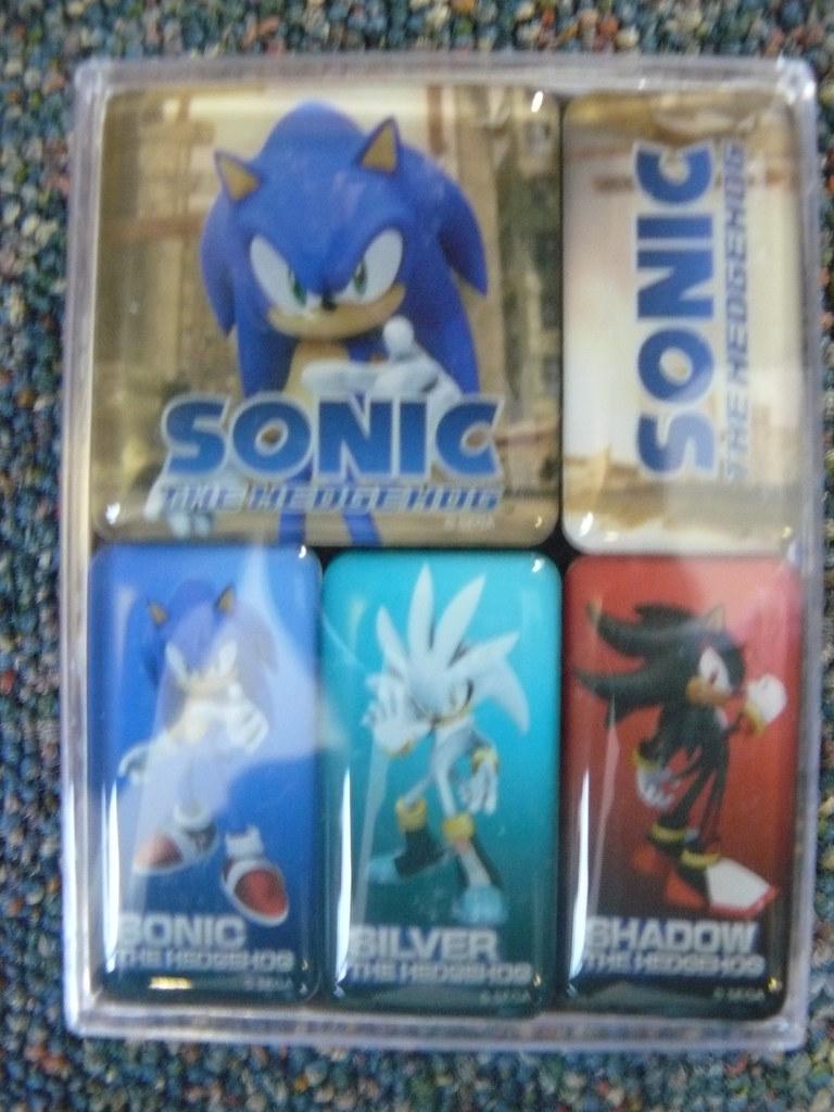 Sonic The Hedgehog 2006 Magnets Sega Europe Flickr