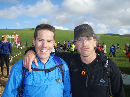 Sun, 28/10/2007 - 14:53 - Steve Nash and Pete Bursnall finish the OMM - Pic Pete Bursnall