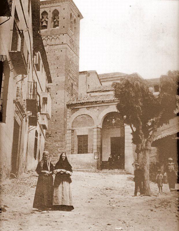 Iglesia de Santa Leocadia, Toledo,  hacia 1900