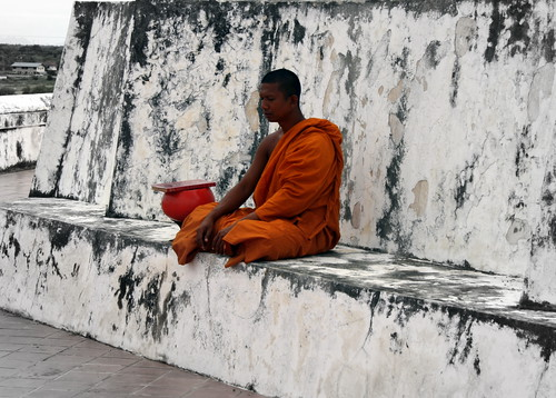 Buddhist monk | by echiner1