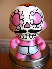 custom munny by Please Flush (prize from Cancer Sell)