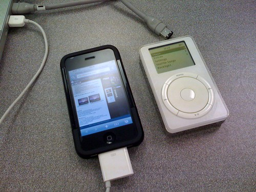 iPod 1st Gen, and iPhone 3G | by 37prime