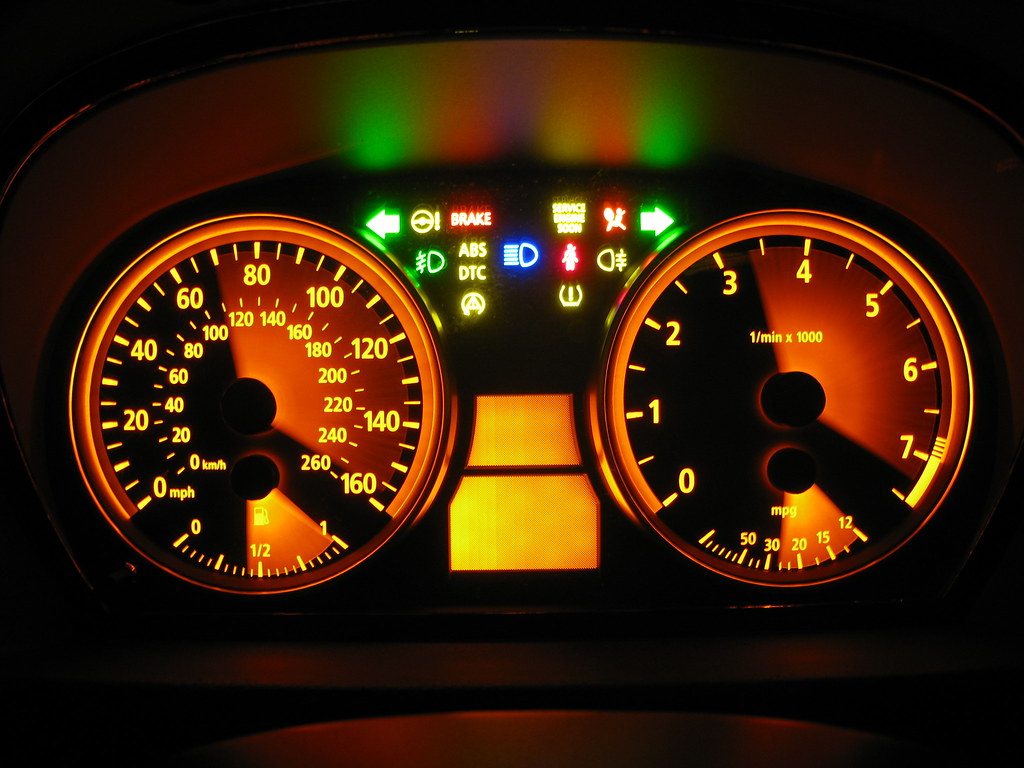 Kombi Instrument Test | Instrument cluster test with longer … | Flickr