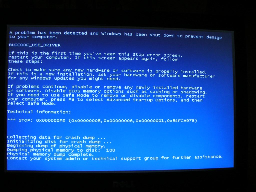 Dell Latitude E6400 Blue Screen of Death: BUGCODE_USB_DRIV… | Flickr