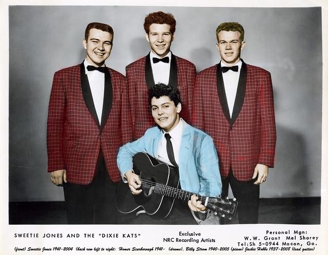 Sweetie Jones & the Dixie Kats (photo circa 1956?)