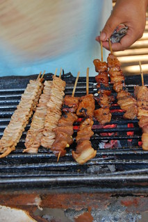 Barbecue and Isaw | by rexquisite
