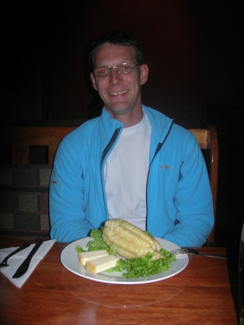 Corn with cheese, Cuzco