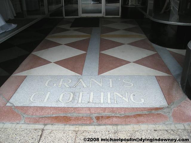 Old Grant S Clothing Terrazzo Floor In Lewiston Maine Flickr
