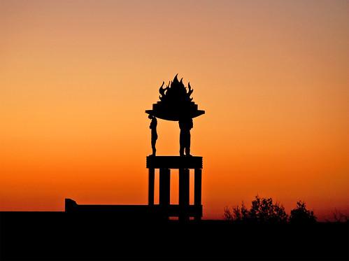 sky sun girl sunrise austin naked fire dawn nikon theater skies texas theatre balcony tx south rise met metropolitan flutter mybalcony d80 fluttergirl nikond80