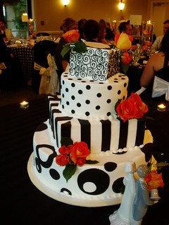 Jon and Caren's Wedding Cake | by Mini D