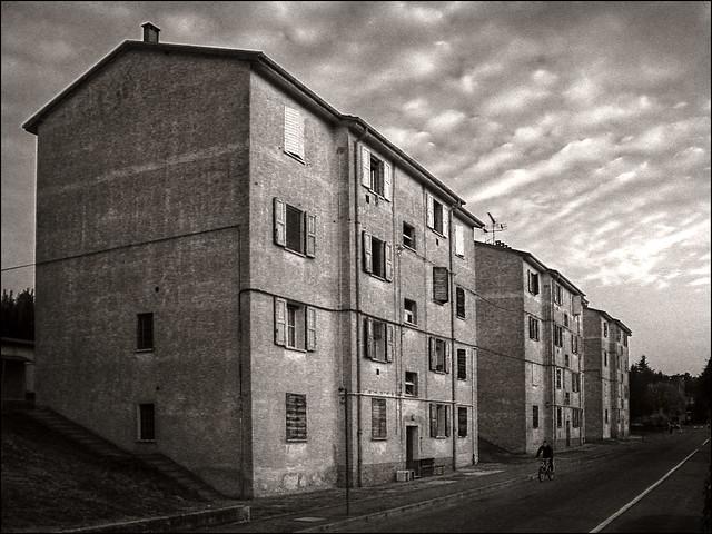 Pianoro, case popolari.