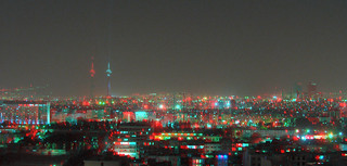 Tehran landscape at night _Anaglyph 3D : You need Red/Cyan glasses | by Shahrokh Dabiri
