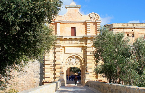 City Gate; Mdina, Malta | by foxypar4