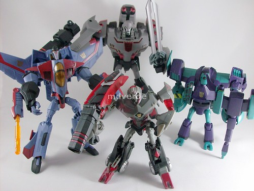 Transformers Animated Decepticons | by mdverde