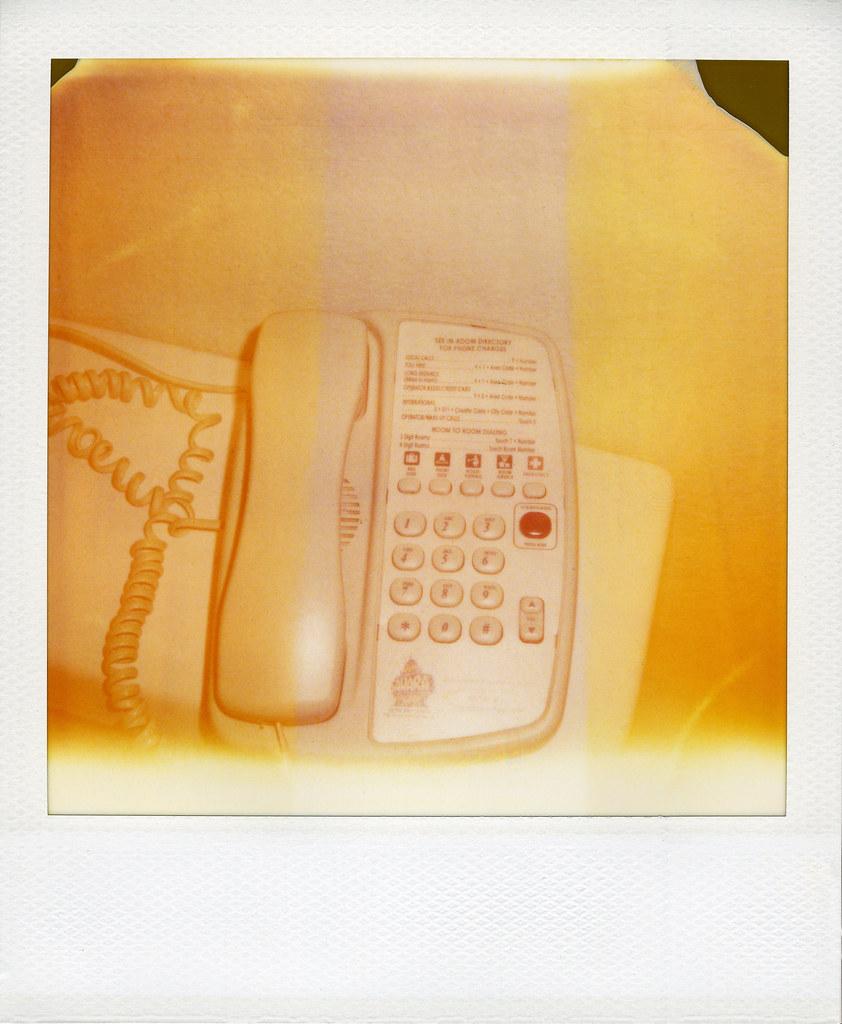 Sahara Hotel Room Phone Polaroid Sx 70 Model 2 Polaroid 7 Flickr