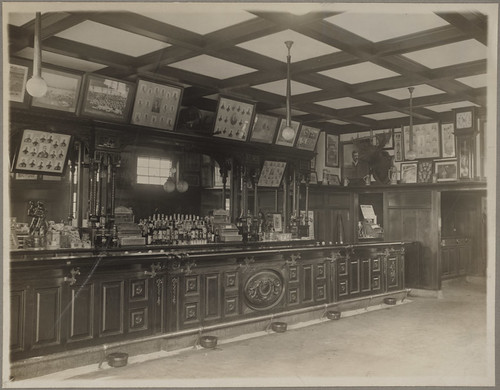 Interior of Third Base, Michael T. McGreevey's Saloon | by Boston Public Library
