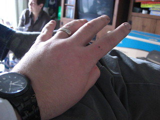 Long string of pictures of my hands | by jon_a_ross