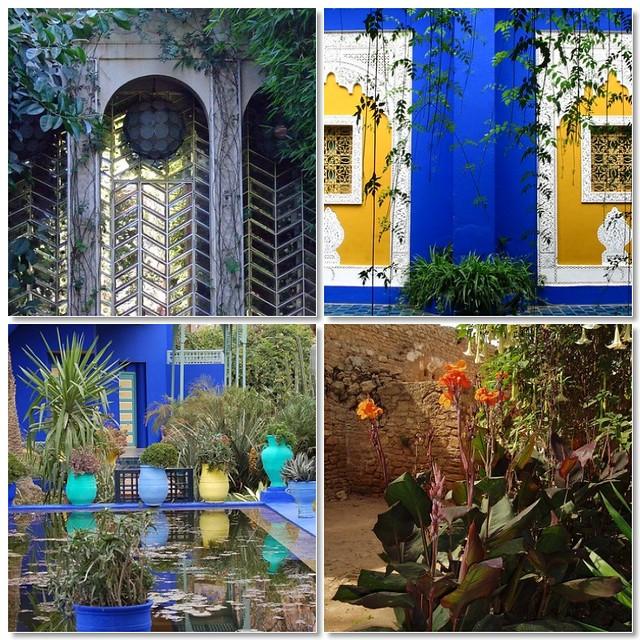 Moroccan Gardens Mosaic 1 Moroccan Garden Door 2 Colors Flickr